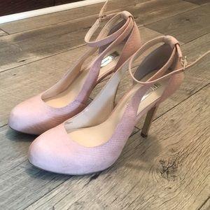 Pinkish nude stiletto INC Macy's brand